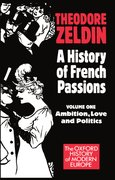 Cover for A History of French Passions