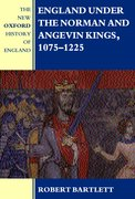 Cover for England under the Norman and Angevin Kings