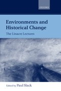 Cover for Environments and Historical Change
