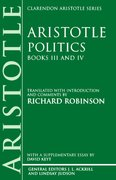Cover for Politics: Books III and IV