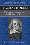 Cover for Thomas Hobbes: Writings on Common Law and Hereditary Right