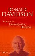 Cover for Subjective, Intersubjective, Objective