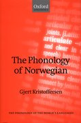 Cover for The Phonology of Norwegian