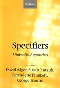 Cover for Specifiers
