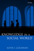 Cover for Knowledge in a Social World