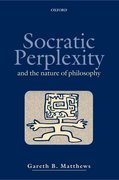 Cover for Socratic Perplexity - 9780198238881
