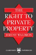 Cover for The Right to Private Property