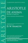 Cover for De Anima