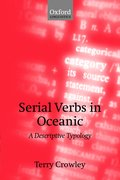Cover for Serial Verbs in Oceanic