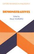 Cover for Demonstratives