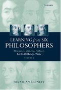 Cover for Learning from Six Philosophers: Descartes, Spinoza, Leibniz, Locke, Berkeley, Hume