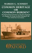 Cover for Common Heritage or Common Burden?