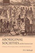 Cover for Aboriginal Societies and the Common Law