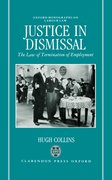 Cover for Justice in Dismissal