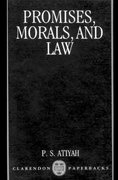 Cover for Promises, Morals and Law