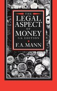 Cover for The Legal Aspect of Money