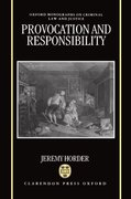 Cover for Provocation and Responsibility