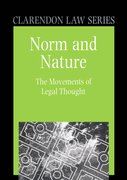 Cover for Norm and Nature