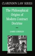 Cover for The Philosophical Origins of Modern Contract Doctrine
