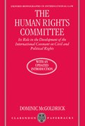 Cover for The Human Rights Committee