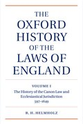 Cover for The Oxford History of the Laws of England Volume I