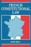 Cover for French Constitutional Law