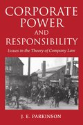 Cover for Corporate Power and Responsibility