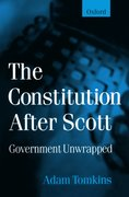 Cover for The Constitution After Scott