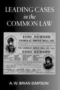 Cover for Leading Cases in the Common Law