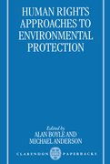 Cover for Human Rights Approaches to Environmental Protection