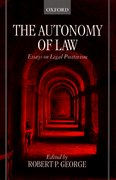 Cover for The Autonomy of Law