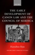 Cover for The Early Development of Canon Law and the Council of Serdica