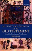 Cover for History and Ideology in the Old Testament