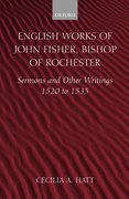 Cover for English Works of John Fisher, Bishop of Rochester
