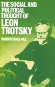Cover for The Social and Political Thought of Leon Trotsky
