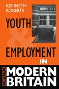 Cover for Youth and Employment in Modern Britain