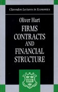 Cover for Firms, Contracts, and Financial Structure