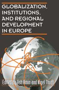 Cover for Globalization, Institutions, and Regional Development in Europe