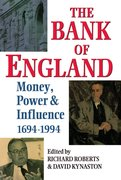 Cover for The Bank of England