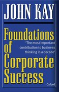 Cover for Foundations of Corporate Success