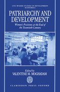 Cover for Patriarchy and Development