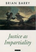 Cover for Justice as Impartiality