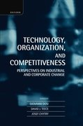 Cover for Technology, Organization, and Competitiveness