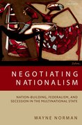 Cover for Negotiating Nationalism
