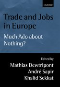 Cover for Trade and Jobs in Europe