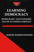 Cover for Learning Democracy