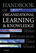 Cover for Handbook of Organizational Learning and Knowledge