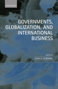 Cover for Governments, Globalization, and International Business