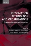 Cover for Information Technology and Organizations