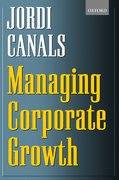 Cover for Managing Corporate Growth